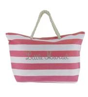 Little Marcel Red & White Stripe Beach Bag