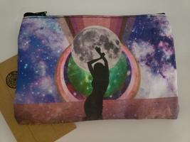 Cosmic collage medicine bag
