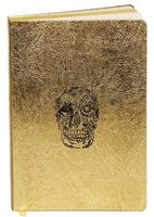 D.L. & Co Gold Deleft Skull Journal