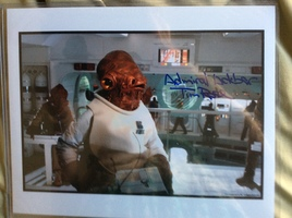Autographed Photo - Tim Rose (Admiral Ackbar - Star Wars)