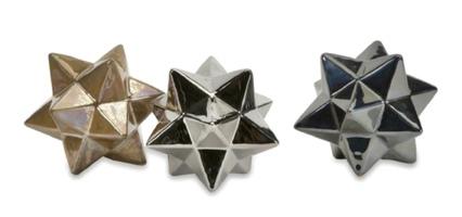 Metallic Star Trio