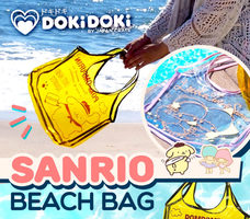 Little Twin Stars Sanrio Beach Bag