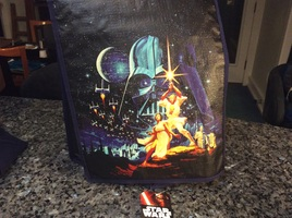 Star Wars recycled messenger tote