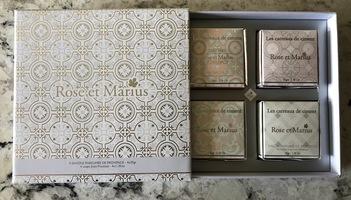 Rose Et Marius 4 Soap Gift Box
