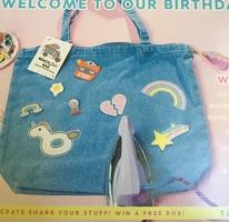 Quirky Girl Beach Flair Bag