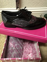 Mallory Glittery Oxford shoes