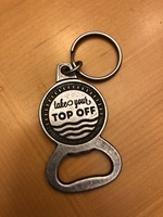 """Take your top off"" bottle opener/keychain"