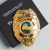 Replica Hopper Police Badge (Stranger Things)