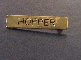 Hopper Pin (Stranger Things)