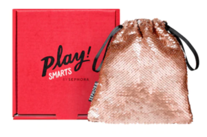 Play! Smarts by Sephora, BEAUTY BAG ONLY!