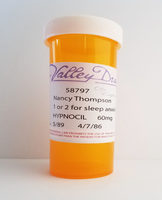 Nancy's Replica Hypnocil Prop Pill Bottle from A Nightmare on Elm Street 3
