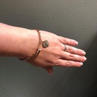"""Piper """"Loving"""" 18K Rose Gold Plated Heart Bracelet"""