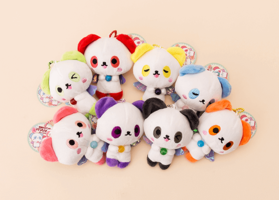 Angel Panda Kawaii Plushie