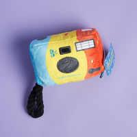 Click n'Rip Plush Dog Toy