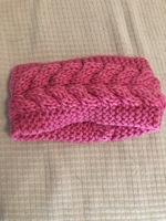 Pink Knit Headband