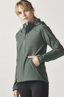 Salma Hardshell Jacket (Green)