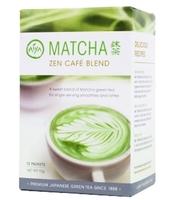 AIYA MATCHA ZEN CAFE BLEND 12 PACKETS