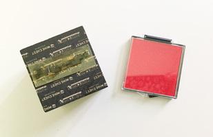 Minecraft Redstone Stamp and Pad