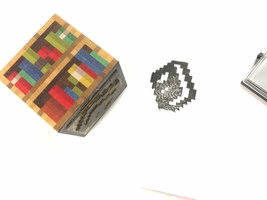 Minecraft Book Stamp and Ink Pad