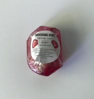 Leeloo Soap Ravishing Ruby Crystal Soap