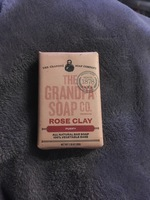 The Grandpa Soap Co. Rose Clay Bar Soap