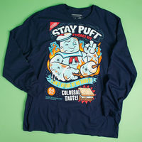 Ghostbusters Stay Puft Long Sleeve Shirt