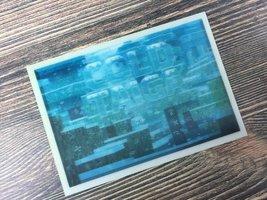 Cold Taiga Minecraft Lenticular Card