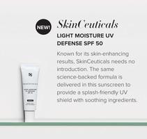 SkinCeuticals Light Moisture UV Defense Sunscreen Broad Spectrum SPF 50