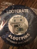 Loot Pin September 2017 - Robotic