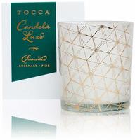 Tocca Candelina Luxe Travel Size Jar Candle in Chamonix - Rosemary- Pine