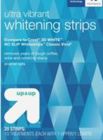 ultra vibrant whitening strips