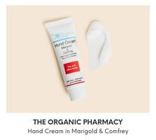 The Organic Pharmacy Hand cream in Marigold & Comfey