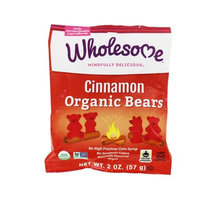 Wholesome cinnamon organic bears