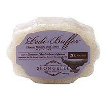 Spongelle Pedi-Buffer Summer Lilac-Verbena Infusion