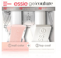 Essie Gel Couture Fairy Tailor (step 1 & step 2)
