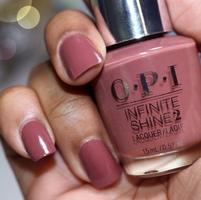 OPI Infinite Shine Linger Over Coffee