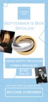 Janis Savitt Tri-Color Cobra Bracelet