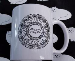 Aquarius zodiac mug.