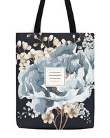 Obvious State Floral Literary Samuel Coleridge Tote Bag