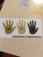 Feminist sticker club