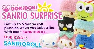Sanrio Roll Plushie
