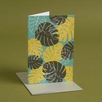 Palm Leaf Card