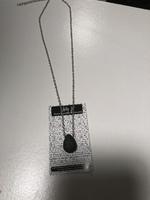 Tear shaped necklace