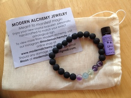 Modern Alchemy 'Air' Diffuser Bracelet and Libra Oil