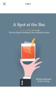 A Spot at the Bar Everleigh mixology recipe book