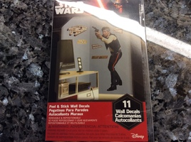 Star Wars peel and stick wall decals - Han Solo