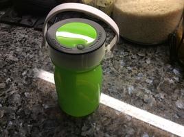 Green silicone lantern