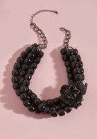 Wants and Beads Statement Necklace