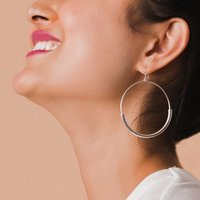 8 Other Reasons Silver Tone Hoop Earrings