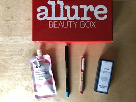 Allure July 2018 items - including Sunday Riley Luna oil